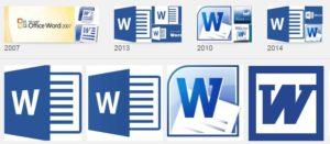 एम एस वर्ड की फाइलों के नाम के एक्सटैन्शन